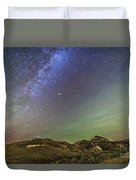 The Northern Autumn Stars Duvet Cover