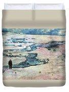 The Nowhere Man By Mary Bassett Duvet Cover
