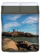 The Nubble 2 Duvet Cover