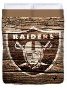 The Oakland Raiders 1f Duvet Cover