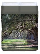 The Oaks At Boone Hall Duvet Cover