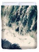 The Ocean Roars Duvet Cover
