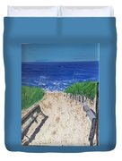 The Ocean View Duvet Cover