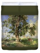 The Old Ash Tree Duvet Cover by Edward Arthur Walton
