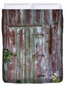 The Old Barn Door Duvet Cover