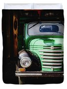 The Old Beer Truck Duvet Cover
