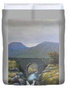 The Old Bridge At Connor Pass Duvet Cover