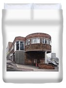 The Old Bus Station Duvet Cover