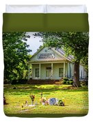 The Old Country Churchyard Duvet Cover