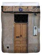 The Old Door. Duvet Cover