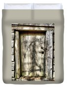 The Old Door Duvet Cover