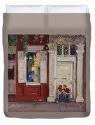 The Old Doorway Duvet Cover