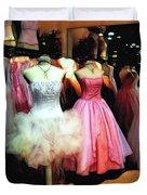 The Old Dress  Shop Duvet Cover