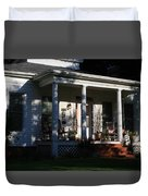 The Old Front Porch Duvet Cover