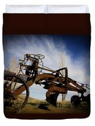 The Old Grader Duvet Cover