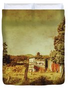 The Old Hay Barn Duvet Cover