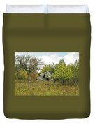 The Old Homestead And Orchard Duvet Cover