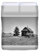 The Old Homestead Paint Duvet Cover