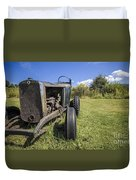The Old Jalopy Duvet Cover