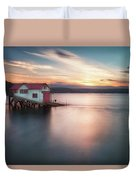 The Old Lifeboat Station At Mumbles Duvet Cover