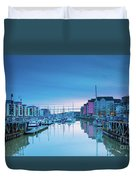 The Old Lock Gates Duvet Cover