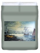 The Old London Bridge Duvet Cover