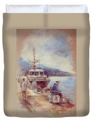 The Old Man And The Sea 01 Duvet Cover