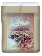 The Old Man And The Sea 02 Duvet Cover