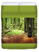 The Old Man In The Forest Duvet Cover