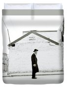 The Old Man Of Mea Shearim Duvet Cover
