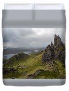 The Old Man Of Storr, Isle Of Skye, Uk Duvet Cover