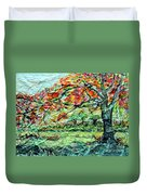 The Old Maple Tree Duvet Cover