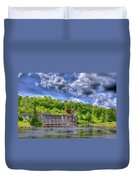 The Old Mckeever Pulp Mill Duvet Cover