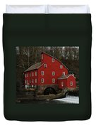 The Old Mill In Clinton Nj Duvet Cover