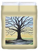 The Stained Old Oak Tree Duvet Cover