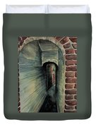 The Old Passageway Duvet Cover