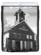 The Old Ridgway Firehouse Duvet Cover