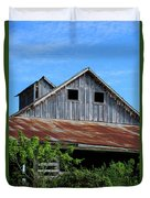 The Old Rusty Barn Duvet Cover