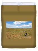 The Old Santa Fe Trail Duvet Cover