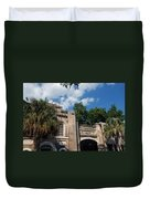 The Old Slave Market Museum In Charleston Duvet Cover