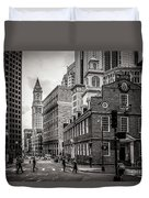 The Old State House Duvet Cover