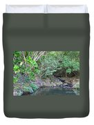 The Old Swimming Hole Duvet Cover