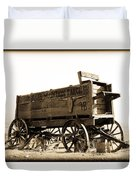 The Old Wagon Duvet Cover