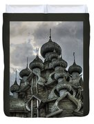 The Old Wooden Church Duvet Cover
