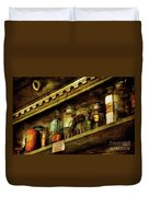 The Olde Apothecary Shop Duvet Cover