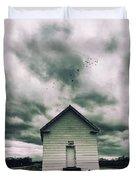 The Oldest Church In Dayton Duvet Cover