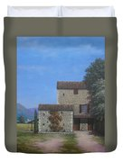 The Olive Mill Province Duvet Cover
