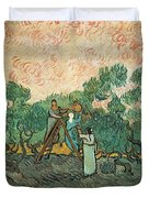 The Olive Pickers Duvet Cover
