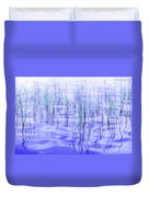 The Ongoing Reeds Experiment Duvet Cover