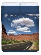 The Open Road - Utah Duvet Cover